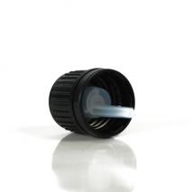 18 mm kamštelis su lašintuvu